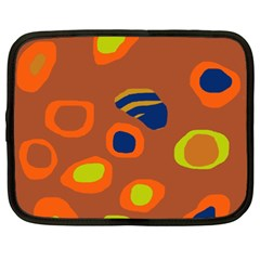 Orange abstraction Netbook Case (XXL)