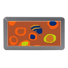 Orange abstraction Memory Card Reader (Mini)