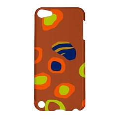 Orange abstraction Apple iPod Touch 5 Hardshell Case