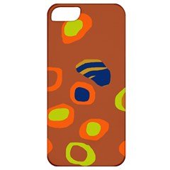 Orange abstraction Apple iPhone 5 Classic Hardshell Case