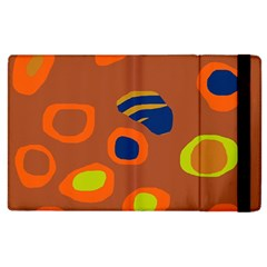 Orange abstraction Apple iPad 2 Flip Case