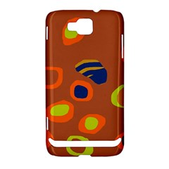 Orange abstraction Samsung Ativ S i8750 Hardshell Case