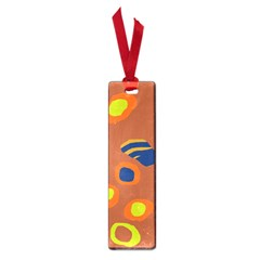 Orange abstraction Small Book Marks