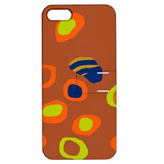 Orange abstraction Apple iPhone 5 Hardshell Case with Stand