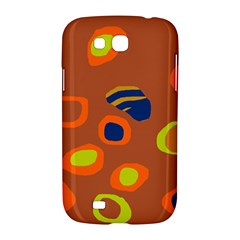 Orange abstraction Samsung Galaxy Grand GT-I9128 Hardshell Case
