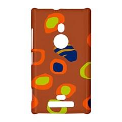 Orange abstraction Nokia Lumia 925