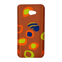 Orange abstraction HTC Butterfly S/HTC 9060 Hardshell Case