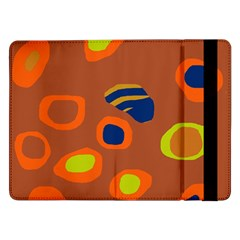 Orange abstraction Samsung Galaxy Tab Pro 12.2  Flip Case