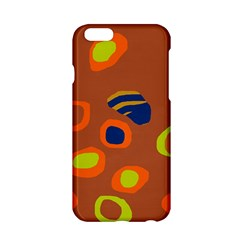 Orange abstraction Apple iPhone 6/6S Hardshell Case
