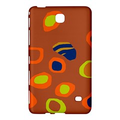 Orange abstraction Samsung Galaxy Tab 4 (7 ) Hardshell Case