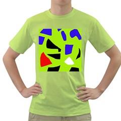 Green abstraction Green T-Shirt