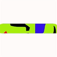 Green abstraction Small Bar Mats