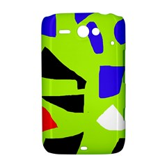 Green abstraction HTC ChaCha / HTC Status Hardshell Case