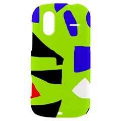 Green abstraction HTC Amaze 4G Hardshell Case