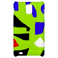 Green abstraction Samsung Infuse 4G Hardshell Case