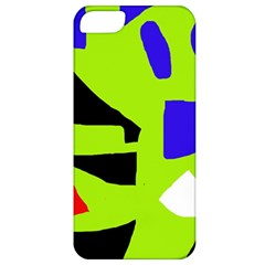 Green abstraction Apple iPhone 5 Classic Hardshell Case