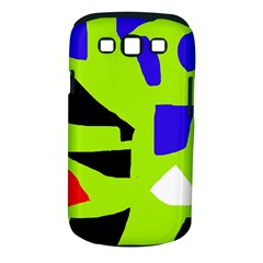 Green abstraction Samsung Galaxy S III Classic Hardshell Case (PC+Silicone)