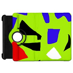 Green abstraction Kindle Fire HD Flip 360 Case