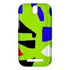 Green abstraction HTC One SV Hardshell Case