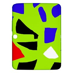 Green abstraction Samsung Galaxy Tab 3 (10.1 ) P5200 Hardshell Case