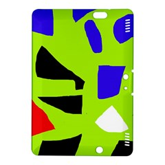 Green abstraction Kindle Fire HDX 8.9  Hardshell Case