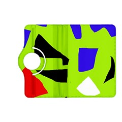 Green abstraction Kindle Fire HD (2013) Flip 360 Case