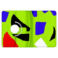 Green abstraction Kindle Fire HDX Flip 360 Case