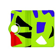 Green abstraction Kindle Fire HDX 8.9  Flip 360 Case