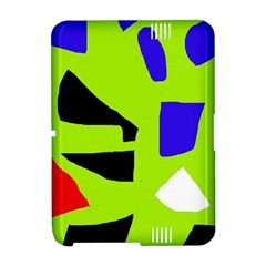 Green abstraction Amazon Kindle Fire (2012) Hardshell Case