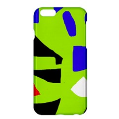 Green abstraction Apple iPhone 6 Plus/6S Plus Hardshell Case