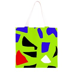 Green abstraction Grocery Light Tote Bag