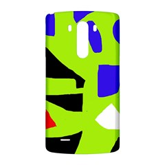 Green abstraction LG G3 Back Case