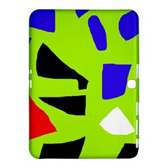 Green abstraction Samsung Galaxy Tab 4 (10.1 ) Hardshell Case