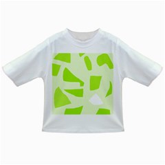Green abstract design Infant/Toddler T-Shirts