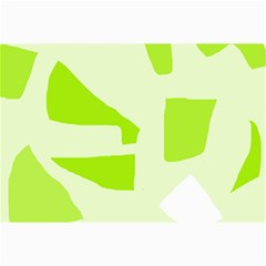 Green abstract design Collage Prints