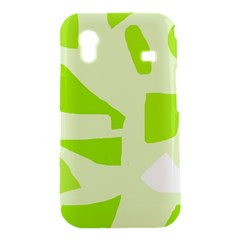 Green abstract design Samsung Galaxy Ace S5830 Hardshell Case