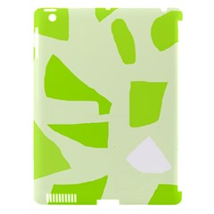 Green abstract design Apple iPad 3/4 Hardshell Case (Compatible with Smart Cover)