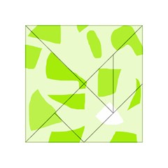 Green abstract design Acrylic Tangram Puzzle (4  x 4 )