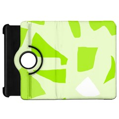 Green abstract design Kindle Fire HD Flip 360 Case