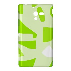 Green abstract design Sony Xperia ZL (L35H)