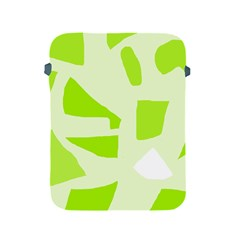 Green abstract design Apple iPad 2/3/4 Protective Soft Cases