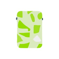 Green abstract design Apple iPad Mini Protective Soft Cases