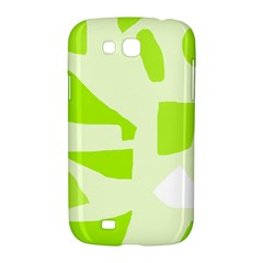 Green abstract design Samsung Galaxy Grand GT-I9128 Hardshell Case