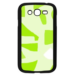 Green abstract design Samsung Galaxy Grand DUOS I9082 Case (Black)