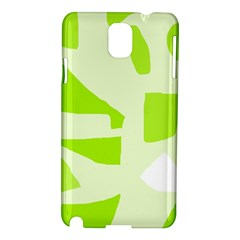 Green abstract design Samsung Galaxy Note 3 N9005 Hardshell Case