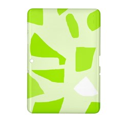Green abstract design Samsung Galaxy Tab 2 (10.1 ) P5100 Hardshell Case