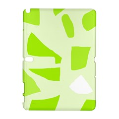 Green abstract design Samsung Galaxy Note 10.1 (P600) Hardshell Case