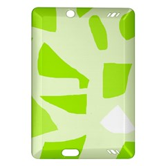 Green abstract design Amazon Kindle Fire HD (2013) Hardshell Case