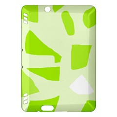 Green abstract design Kindle Fire HDX Hardshell Case