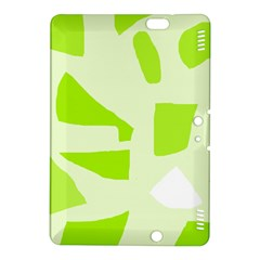 Green abstract design Kindle Fire HDX 8.9  Hardshell Case